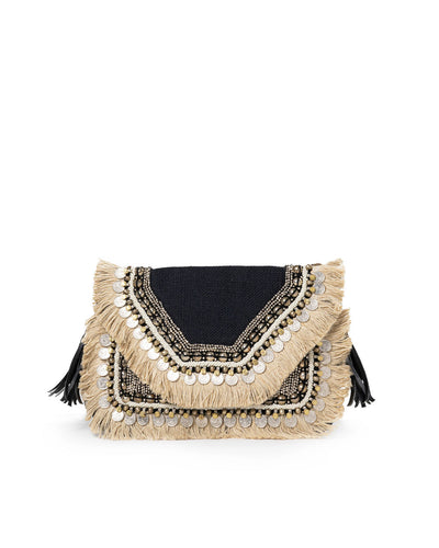 Shashi - Leela Clutch - Black