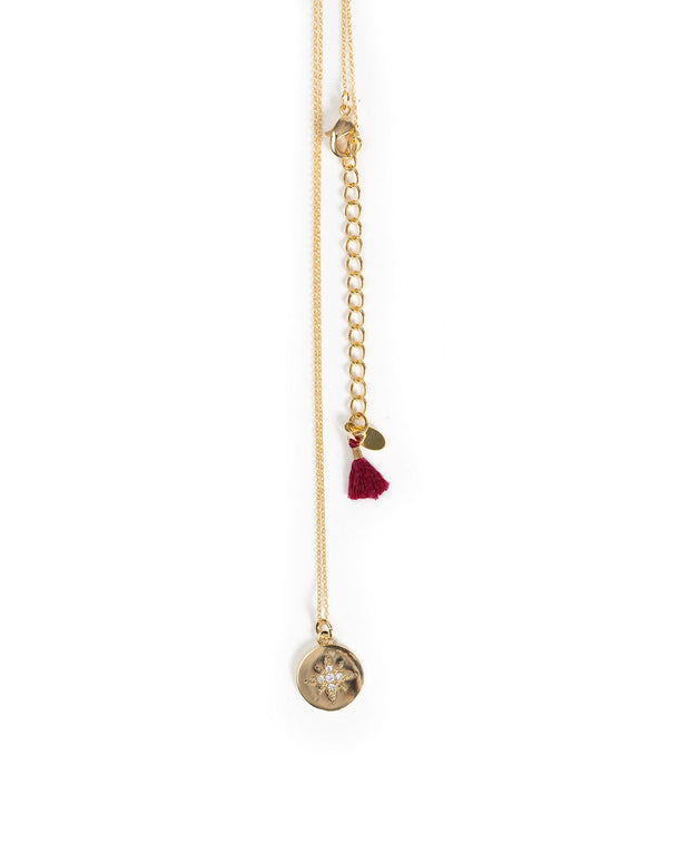 Shashi - Shimmer Pendant Necklace