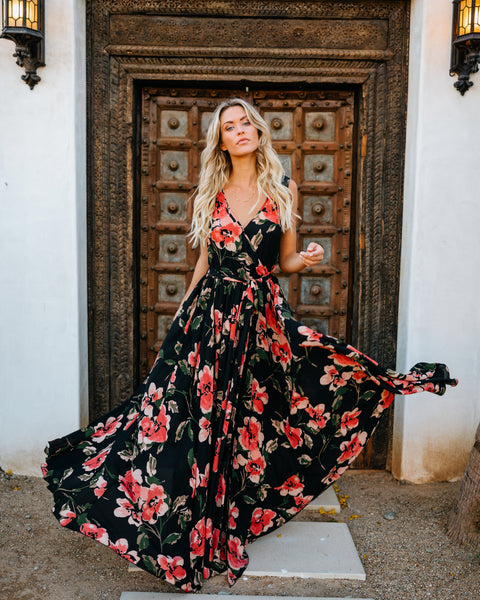 Summer Romance Diana Sleeveless Maxi Dress