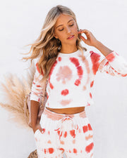 Scottsdale Cotton Cropped Tie Dye Top - FINAL SALE