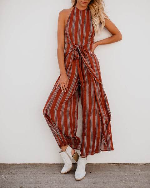 Ain't Basic Wrap Jumpsuit - FINAL SALE