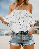 Rising Star Off The Shoulder Top - FINAL SALE