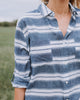 Bradford Striped Cotton Button Down