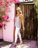 On The Daily Cami Tank - Taupe