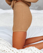 Tawny Knit Drawstring Shorts - FINAL SALE view 6