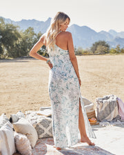 Travel Together Floral Ruffle Maxi Dress view 3