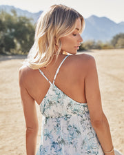 Travel Together Floral Ruffle Maxi Dress view 7