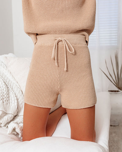 Take The Heat Cotton Blend Knit Shorts