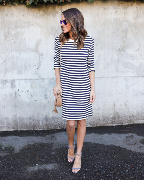 East Gate Striped Dress