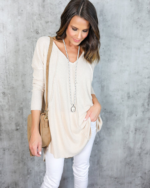 Inside Out Thermal Tunic - FINAL SALE