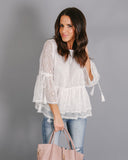 Innocence Is Bliss Blouse - FINAL SALE