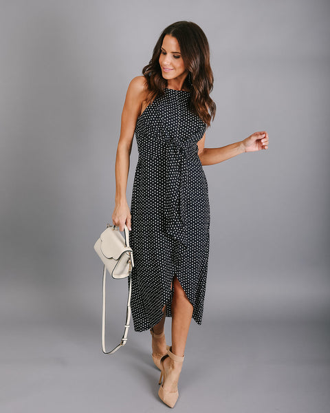 Polka Perfect Midi Dress