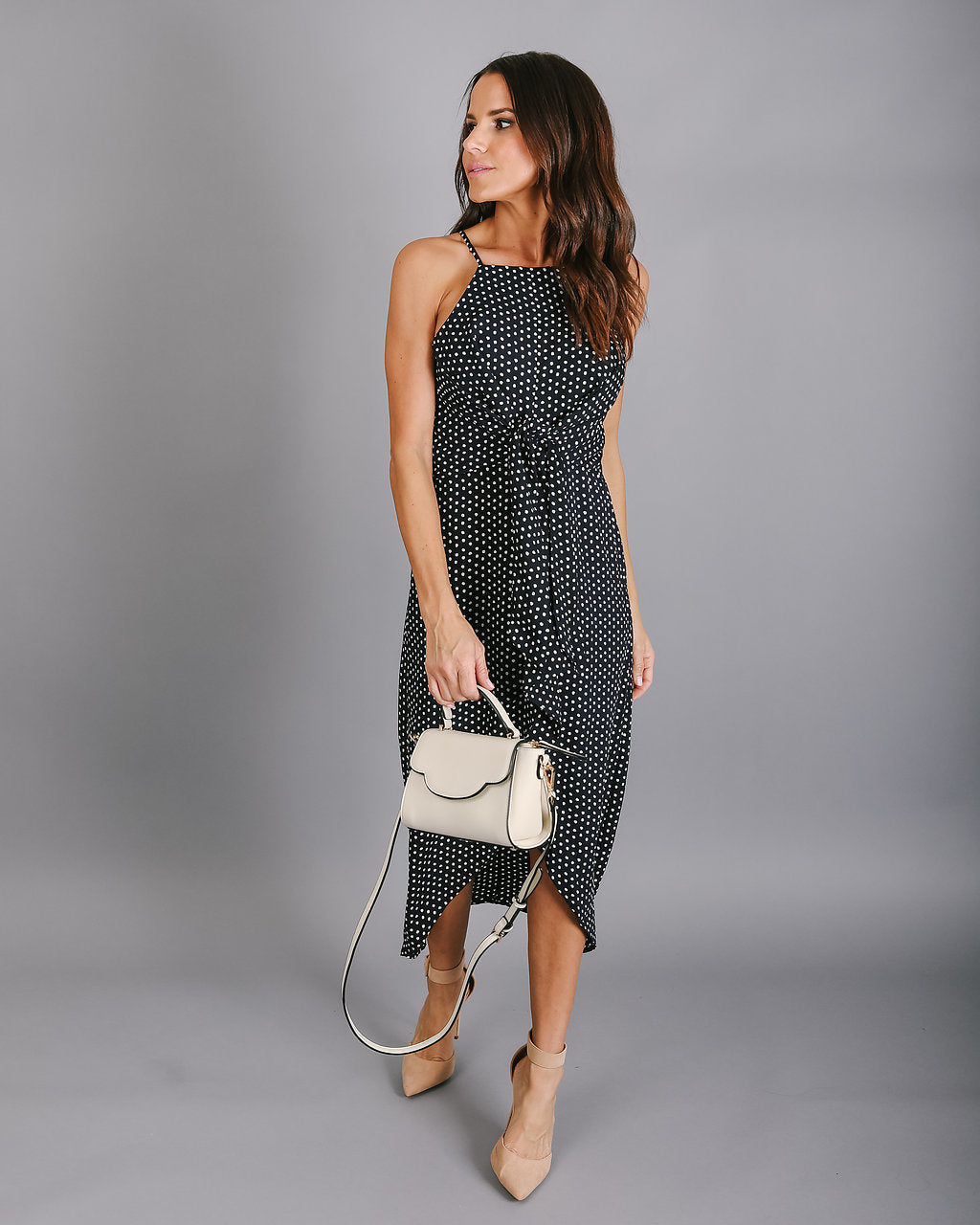Polka Perfect Midi Dress – VICI