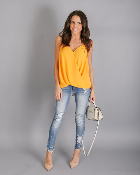 1db4796bb7e3 Beso Top - Marigold