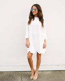 Little White Lies Shift Dress