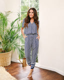 Scottsdale Pocketed Jumpsuit - FINAL SALE