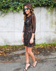 PREORDER - My Forever Lace Dress - Black
