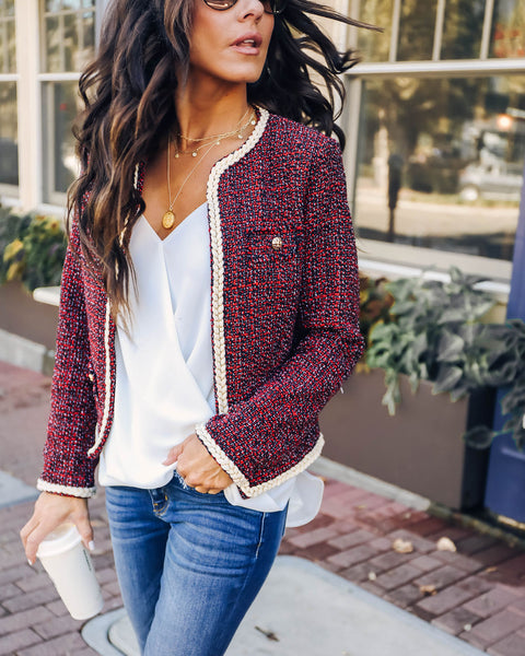 House Of Style Tweed Jacket