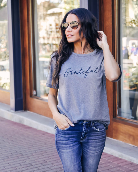 Cotton Grateful Tee