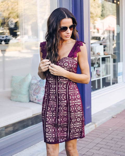 On The Vine Lace Dress