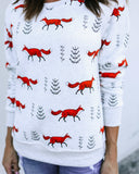What Does The Fox Say Cotton Sweatshirt