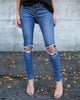 Classique Distressed Skinnies - FINAL SALE