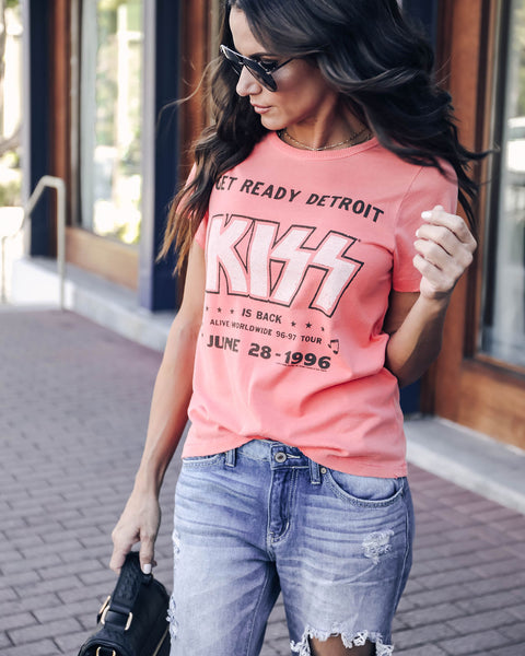 Kiss Vintage Cotton Concert Tee - FINAL SALE