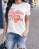 Ladie's Night Vintage Cotton Tee