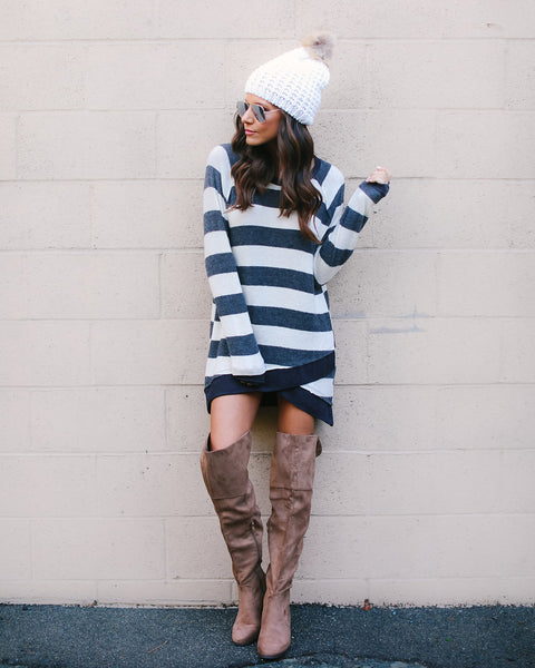Get In Line Knit Tunic