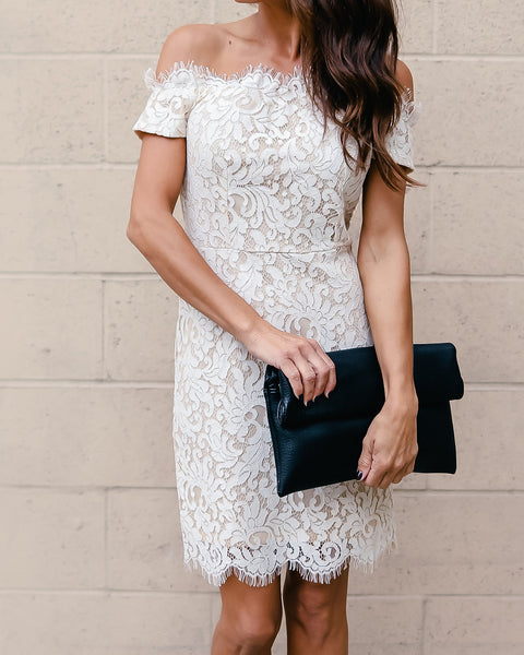 Pristine In Lace Dress