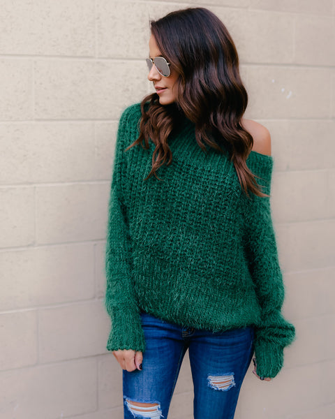 Holly Off The Shoulder Sweater