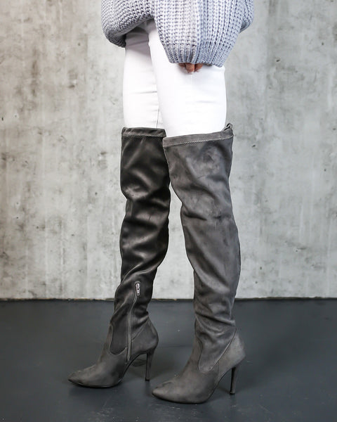 Callisto Over The Knee Boot - FINAL SALE