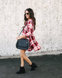 Bandwagon Plaid Dress - FINAL SALE
