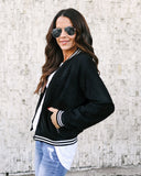 Glory Days Pocketed Bomber Jacket