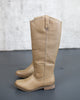 Foster Riding Boot - Taupe - FINAL SALE