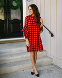 Scheme Of Things Plaid Dress - FINAL SALE