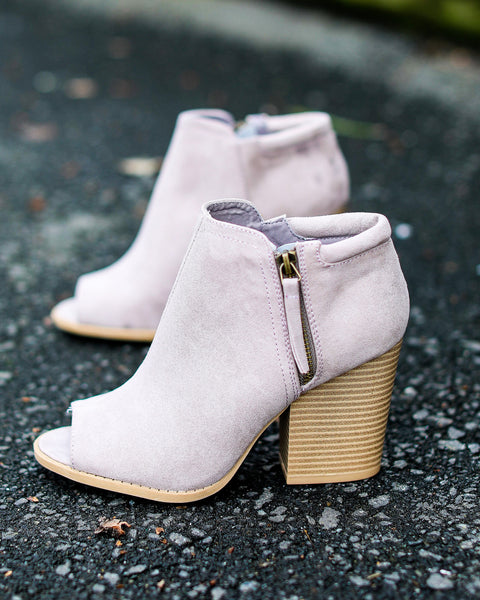 PREORDER - Easton Peep Toe Bootie