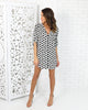 Flock Printed Tunic