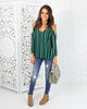 Mariano Cold Shoulder Top