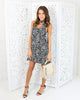 Casey Floral Keyhole Dress