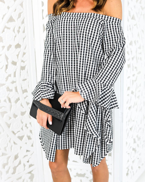 Insight Checkered Dress