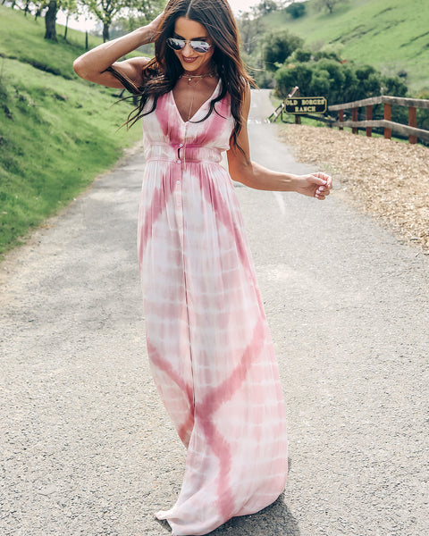 Sun Valley Tie Dye Maxi Dress