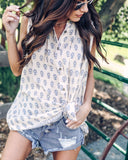Zephyr Button Down Tunic - FINAL SALE