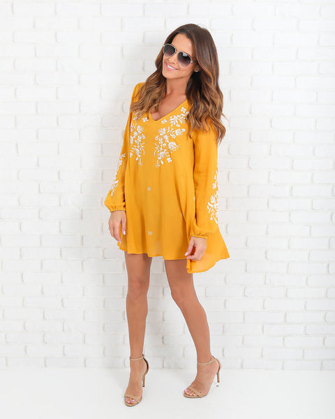 Kaelah Embroidered Tunic