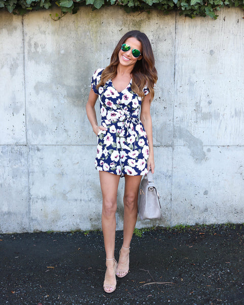 Love In The Garden Romper