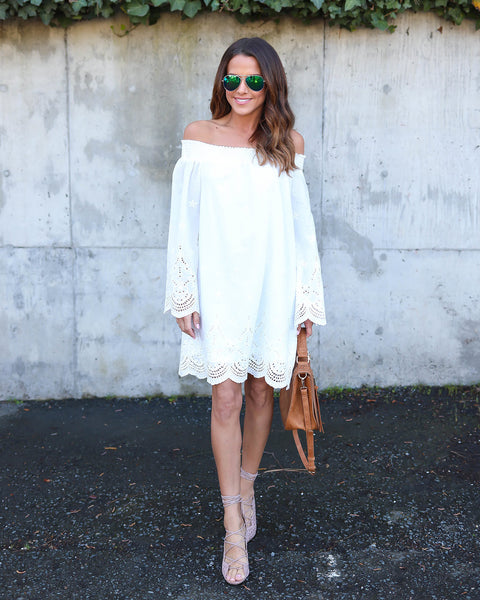 Ulysses Dress - White
