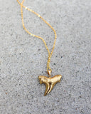 MEGHAN BO DESIGNS - Gold Shark Tooth Necklace
