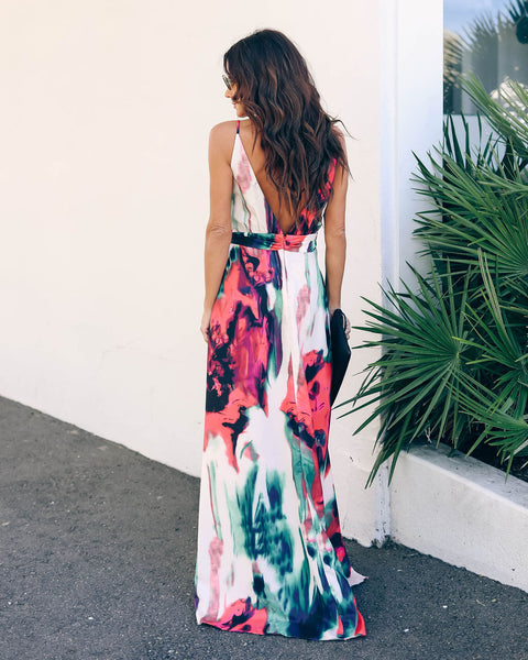Imperial Palace Maxi Dress