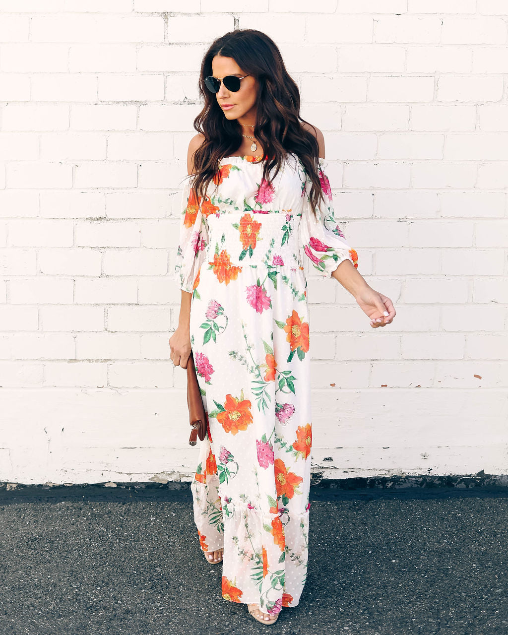 catch thoughts on elegant and sturdy package Hibiscus Princess Floral Maxi Dress - FINAL SALE