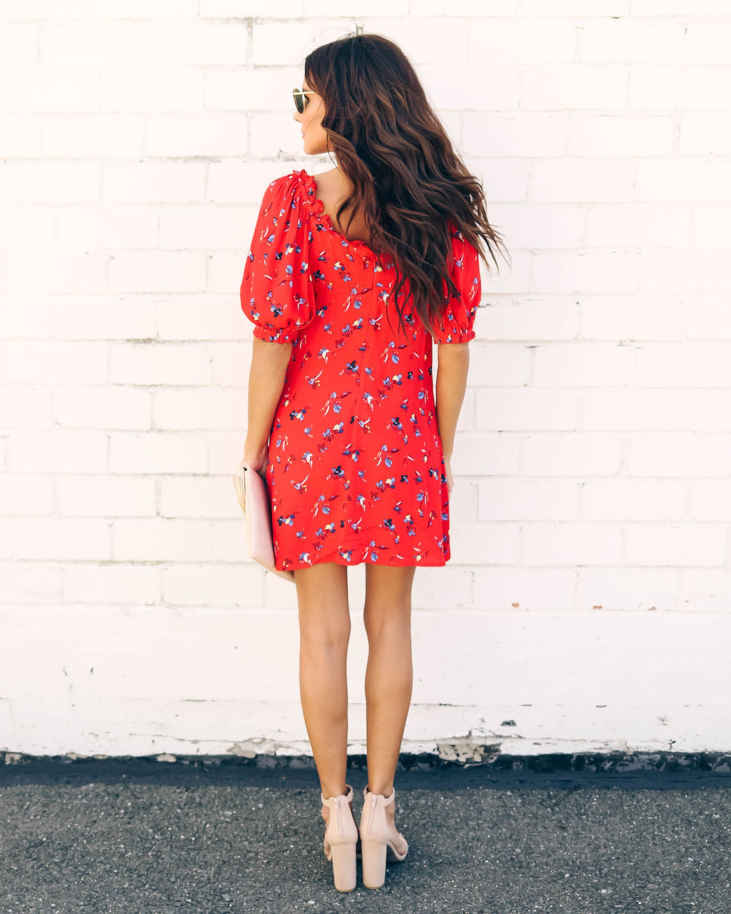 Budding Beauty Floral Dress - FINAL SALE